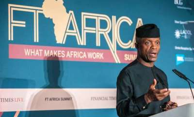 Osinbajo Nigerians have best entrepreneurship talents globally