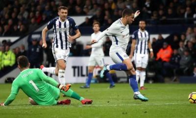 Eden Hazard, Alvaro Morata Score