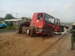 Two people crushed to death by a truck