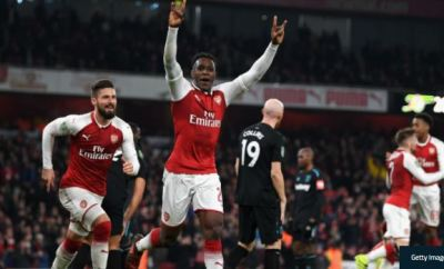 Danny Welbeck Scores As Arsenal Beat West Ham 1-0