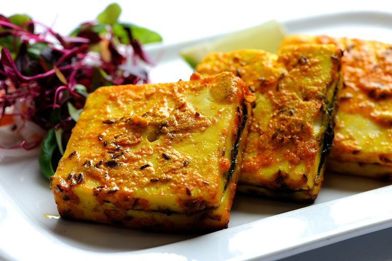 Bharwan Grilled Paneer Recipe   Great British Chefs Bharwan paneer