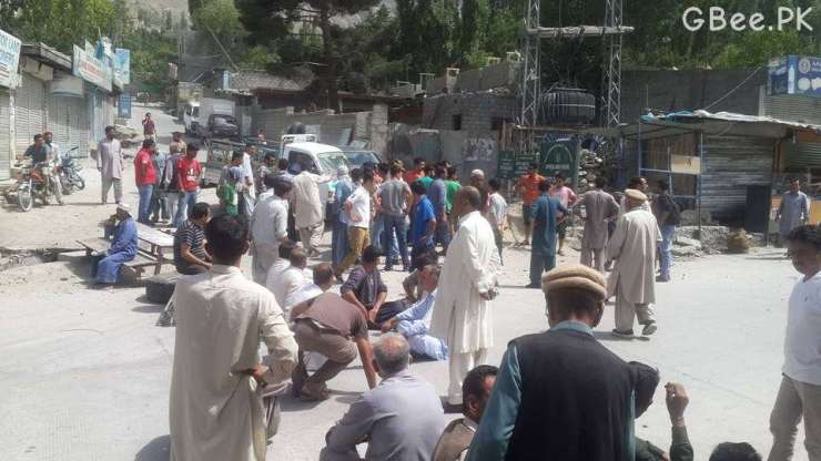 Sit-In Against Load-shedding in Aliabad Hunza