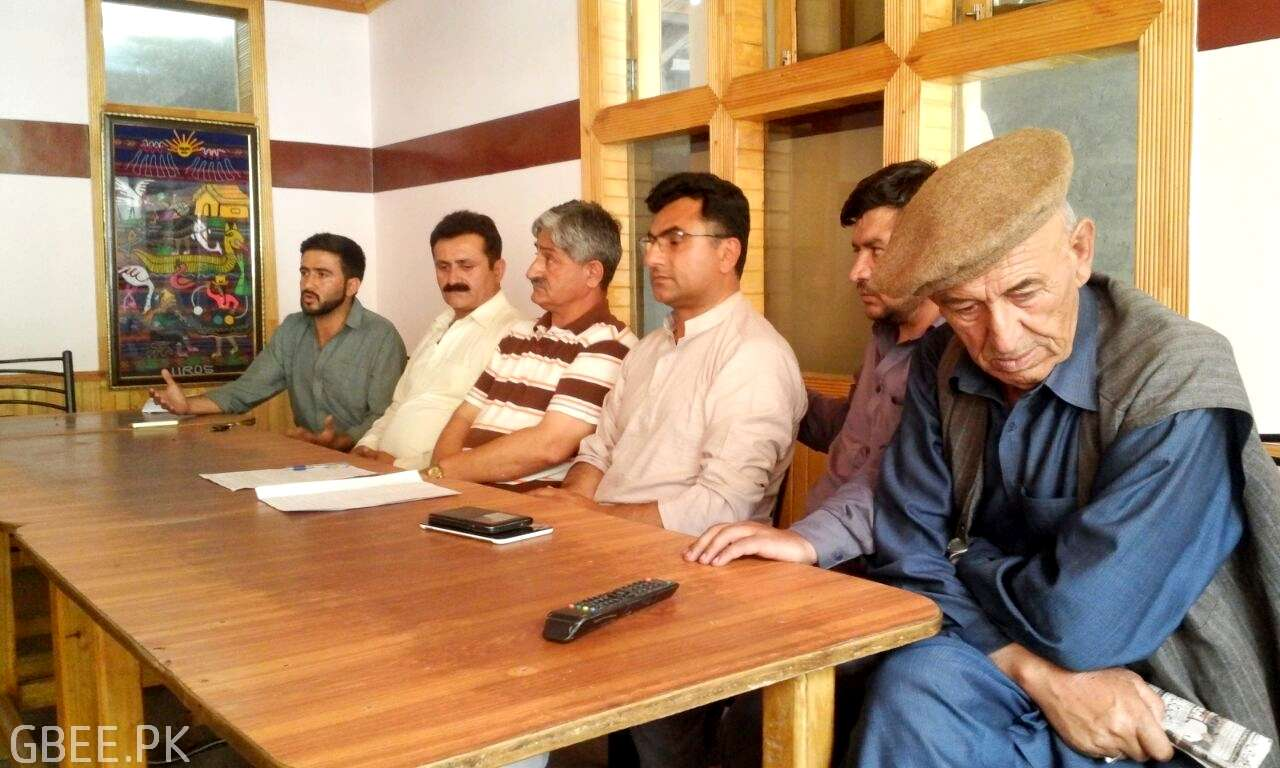 Hunza all parties press conference