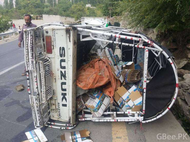 Hunza Accident