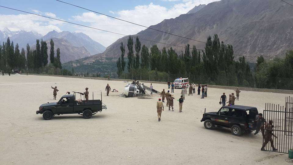 Hunza Army Helicopter Crash