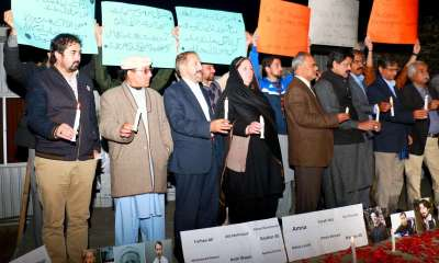 Civil society of Chitral gathers at Press Club Islamabad in solidarity with PK-661 affectees