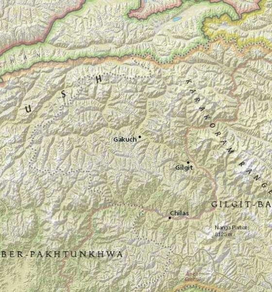 earthquake jolts Gilgit-Baltistan
