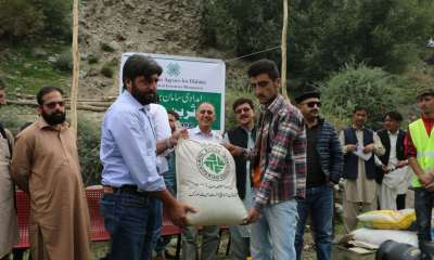 AKAH works with the Government for the second phase of relief for GLOF affected households in Immit Valley in Gilgit-Baltistan