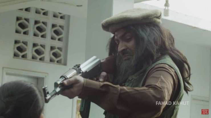 Fahad Kahut APS Peshwar Attack Short-film
