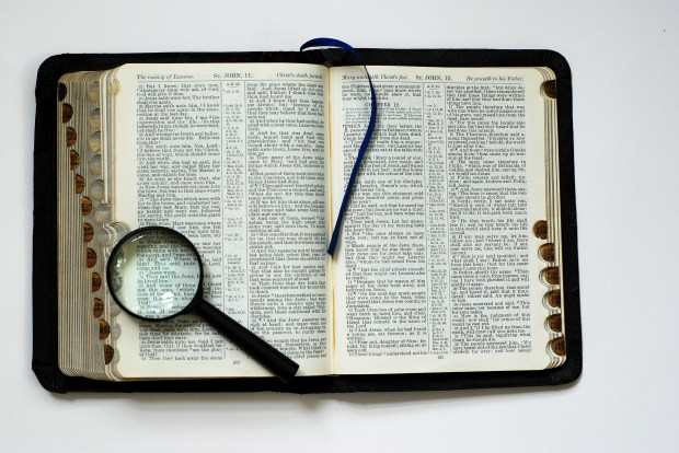 bible magnifying glass