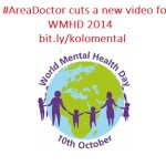 Areadoctor World Mental Health Day 2014 banner