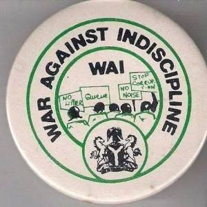 War Against Indiscipline