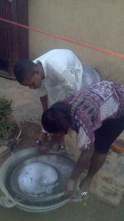 Kitchen duties...