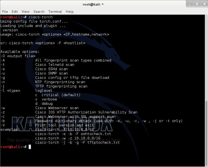 cisco-torch-1  - cisco torch 1 - Cisco Torch – Mass scanning ,Fingerprinting, and Exploitation Tool