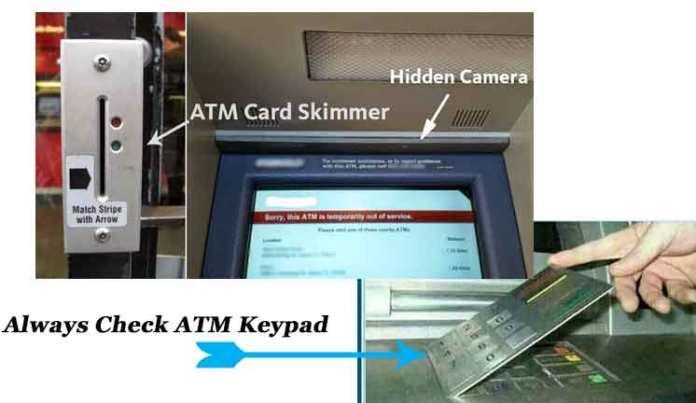 - ATM 2 - Skimmer, ATM, Transmits Stolen Data Via Text Message