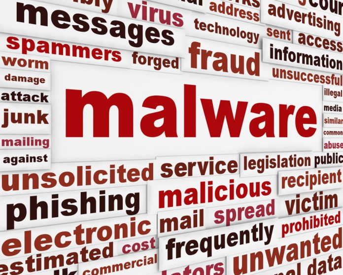 - bigstock Malicious malware warning mess 41722204 1024x819 - Five new malware programs are discovered every second