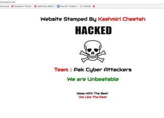 Pakistani Cyber Attackers Hacked Thiruvananthapuram airport Website