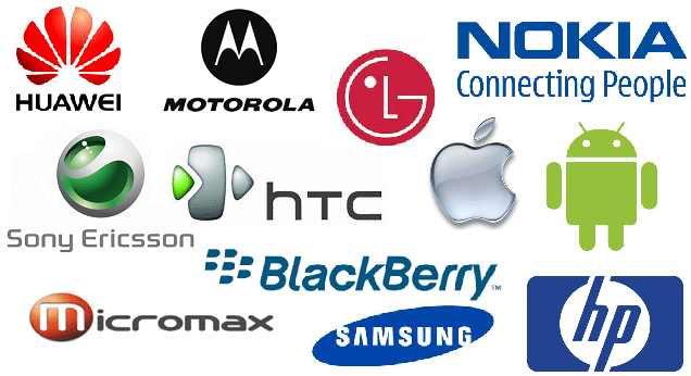 Multinational Cell Phone Manufacturer Logo