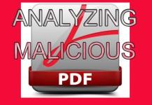 Analyzing a Malicious PDF File