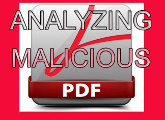 Analyzing a Malicious PDF File