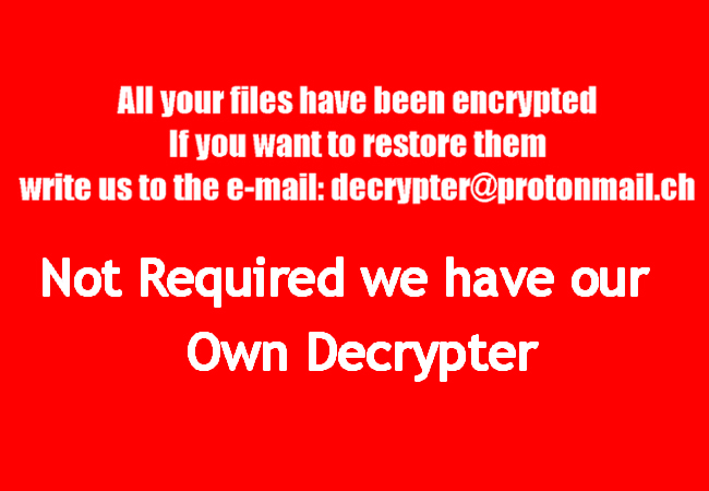 Decryptor tool for BTC ransomware