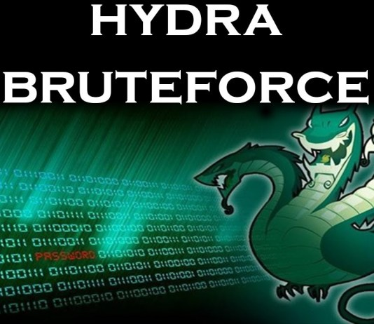 Online password Bruteforce attack with Hydra