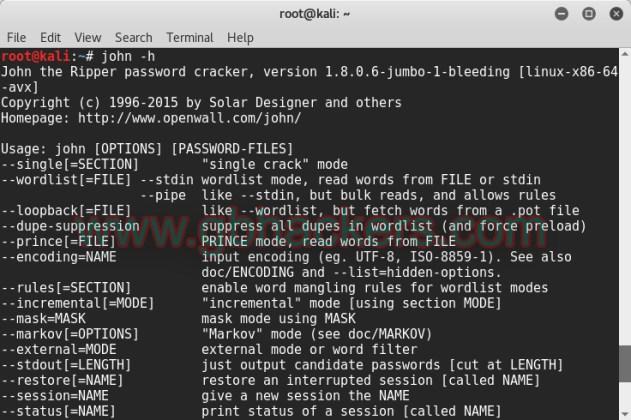Offline password cracking