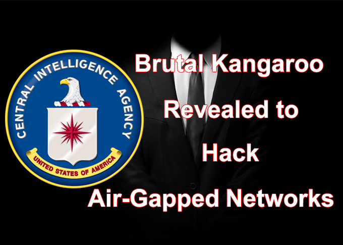 CIA Hacking Brutal Kangaroo Revealed to Hack Air-Gapped Networks