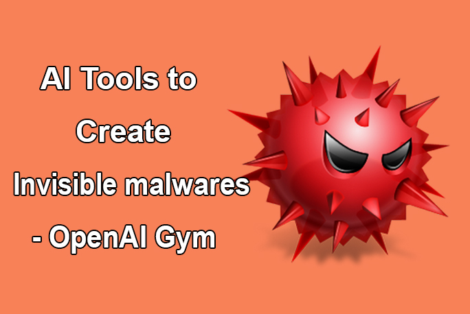 Machine learning system to create invisible Malwares