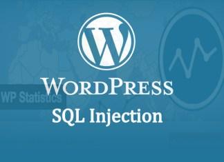 Wordpress visitor statistics plugin found Vulnerable for SQL Injection