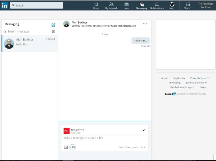 LinkedIn Messenger