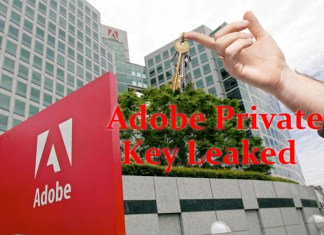 Adobe key Leaked