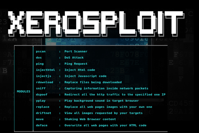 Kali Linux Tutorial  - XeroSploit GBHackers - Kali Linux Tutorial – Toolkit for mitm, Spoofing, DOS, Images Sniffing