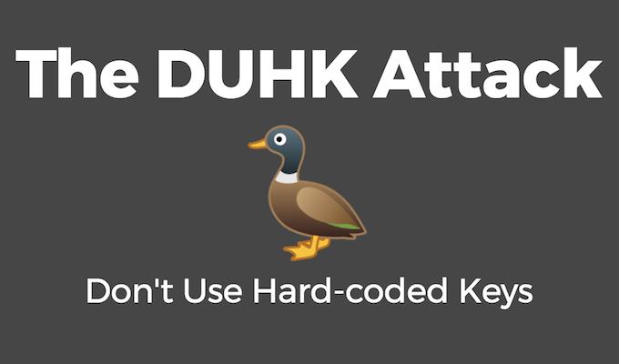 DUHK Attack