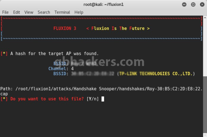 Fluxion  - Fluxion 13 1 - Cracking WPA/WPA2 Passwords in Minutes with Fluxion