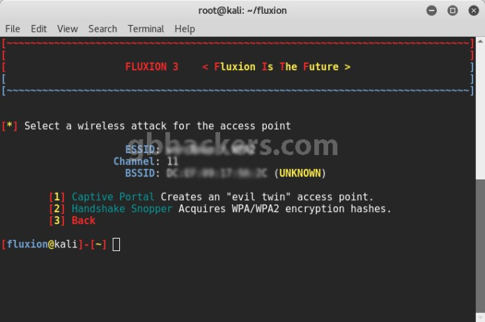Fluxion  - Fluxion 9 1 - Cracking WPA/WPA2 Passwords in Minutes with Fluxion