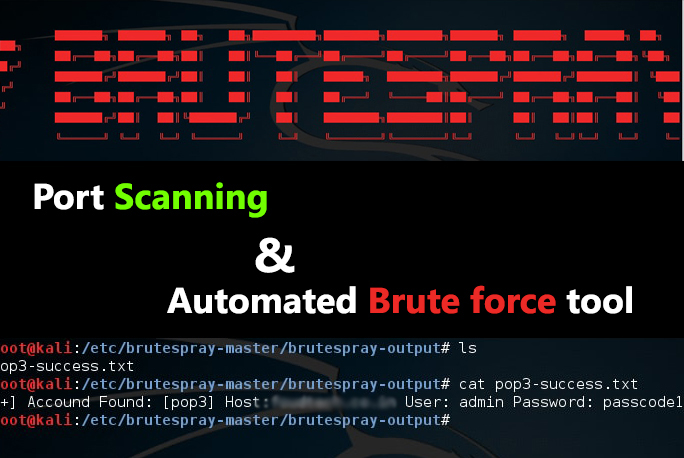 - bruteforce gbhackers2 - Port Scanning and automated Brute Force Tool