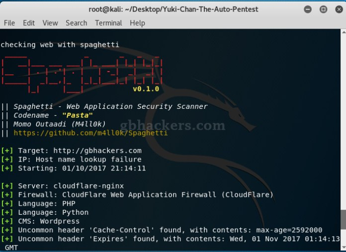 Yuki Chan - Automated Penetration Testing and Auditing Tool