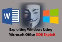 DDE exploit
