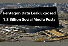 Pentagon Data Leak