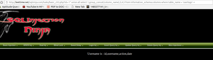 SQL Injection  - cd - Manual SQL Injection With Double quotes Error Based String Method
