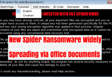 Spider Ransomware