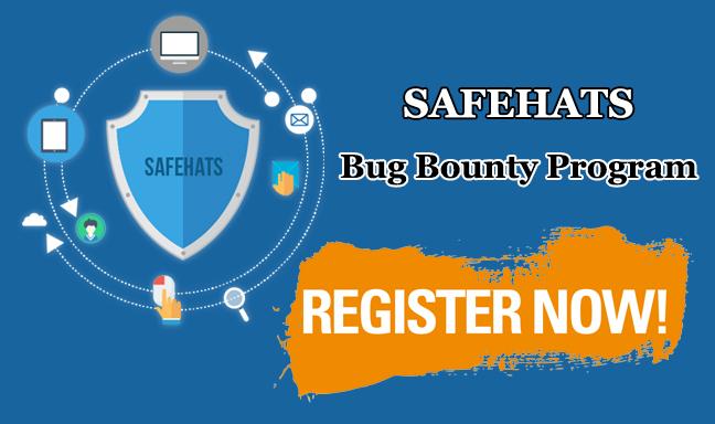 SafeHats  - SafeHats - The Best and Leading Bug Bounty Program