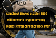 Coincheck Cryptocurrency Exchange Hacked