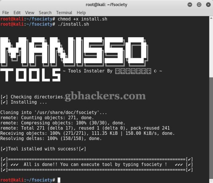 fsociety  - Fsociety 1 - fsociety a Complete Hacking Tools pack that a Hacker Needs
