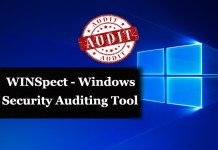 windows auditing tool