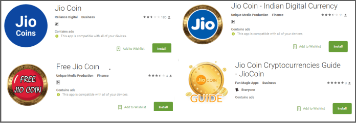 cryptocurrency jio coin