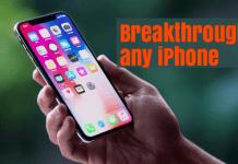 unlock any iPhone