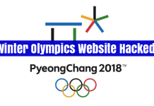 Winter Olympics Website Hacked