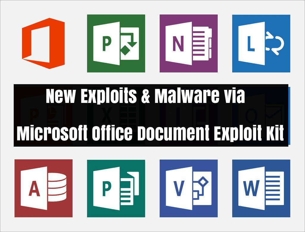 MS Office Document Exploit Kit Distributing New Exploits and